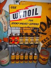 VTG Hot ROD WYNOil Original Display Rack Gas Service Station speed shop Sign