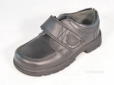 Startrite Boys Accelerate Black Leather Shoes  UK 10 Width G RRP £40