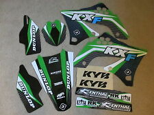 FLU DESIGNS KAWASAKI GRAPHICS & BACKGROUNDS  KX450F KXF450   2009  2010  2011