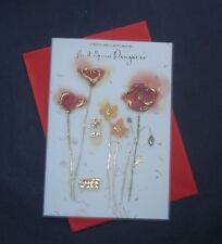 Happy Birthday Card For my Special Daughter with Red Poppies    (s199)