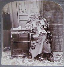 1900 CHINA STEREOVIEW BOXER REBELLION LI HUNG CHANG VICEROY AND DIPLOMAT 八国联军李鸿章