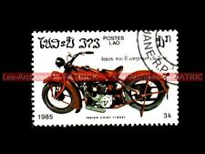 INDIAN CHIEF Scout 1930 - LAO LAOS Moto Stamp Collecting