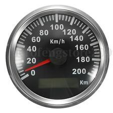 200 KM/H Car Motor Auto Stainless GPS Speedometer Waterproof Digital Gauges