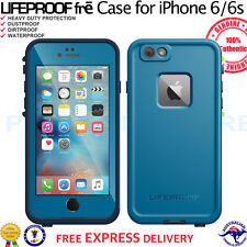 "Genuine LifeProof fre Case for Apple iPhone 6s 4.7"" Shock Waterproof Banzai Blue"