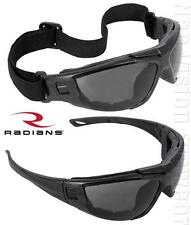 Radians Cuatro Anti Fog Smoke Lens Safety Glasses Goggles Sunglasses Z87.1