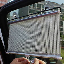 Retractable Car Window Protection Sun Shade Block Shield Curtain Visors Mesh