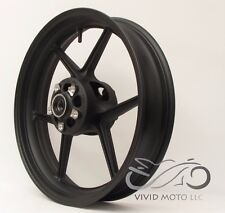 NEW MATTE BLACK Front Wheel ZX6R 2005-2012 ZX10R 2006-2010 636 Rim
