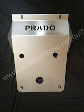 Custom Offroad Toyota Prado 120 IFS front/sump bash plate - 3mm Stainless Steel
