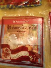 American Girl McDonald's happy meal book 2009 #1 Kirsten new in package