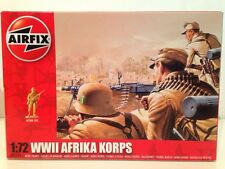Airfix A01711 WWII Afrika Korps  1:72 Scale New 48 Unpainted Pieces