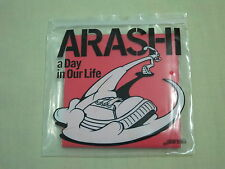 ARASHI JPOP IDOL CD SINGLE A DAY IN OUR LIFE JAPAN VERSION JOHNNY'S J-STORM