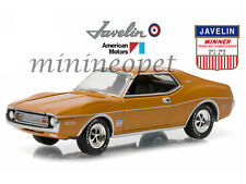GREENLIGHT 29837 HOBBY EXCLUSIVE 1973 AMC TRANS AM VICTORY JAVELIN 1/64 ORANGE