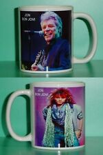 JON BON JOVI - with 2 Photos - Designer Collectible GIFT Mug 03