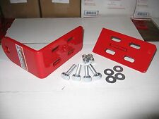 Mower Doctor Heavy Duty Ferris & Simplicity Zero Turn Mower Trailer Hitch (RED)