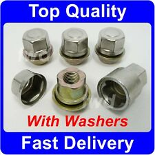 TAPER SEAT ALLOY WHEEL LOCKING NUTS / CAPTIVE WASHERS - MGF MGTF MGZR MGZS [N6]