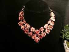 necklace cowry shell 925 Silver Cleopatra cluster bib adjustable