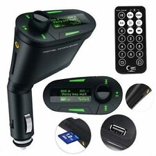 Car Kit MP3 Player Wireless FM Transmitter Modulator USB SD MMC LCD Remote