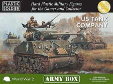 Us tank company army box-plastic soldier company - 15MM-WW2