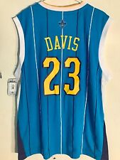 Adidas NBA Jersey New Orleans Hornets Anthony Davis Teal sz XL