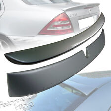 Painted Mercedes BENZ W203 L-Type Roof Spoiler & A-Type Trunk Spoiler 01-07