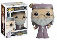 *NEW* Harry Potter: #15 Albus Dumbledore w/ Wand POP Vinyl Figure by Funko