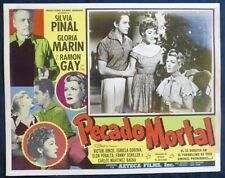 SILVIA PINAL GLORIA MARIN ELDA PERALTA PECADO MORTAL LOBBY CARD PHOTO 1954