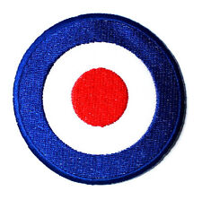 Vespa Vintage Classic Target The Who Motocycle Retro Jacket cap Iron on patch