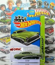 Hot Wheels 2013 #184 So Fine® GREEN,2ndCOLOR,CHROME RIM,BLK PR5,2014 US CARD