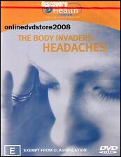 The BODY INVADERS - HEADACHES - MIGRAINES - Health DVD (NEW & SEALED) Region 4