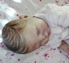 Reborn Doll Rose by Donna RuBert OOAK FULL LEGS Painted Hair