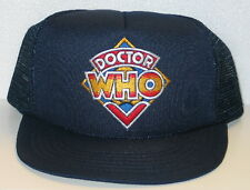 Doctor Who Original Old Logo Patch (c) 1984 Baseball Hat/Cap NEW UNWORN