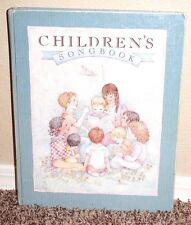 Children's Song Book LDS Mormon Large Table Top Size 1989 Hardback