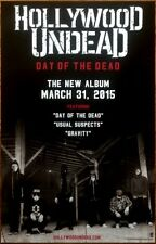 HOLLYWOOD UNDEAD Day Of The Dead 2015 Ltd Ed RARE New Poster +FREE HU Stickers!