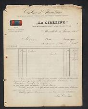 """MARSEILLE (13) SAVON / CIRE """"LA CIRELINE / MILLAUD Fils"""" en 1905"""
