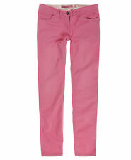 New Womens Superdry Unique Sample Commodity Skinny Chino Size Small Angel Pink