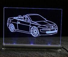 Renault Megane CC Coupé-Cabriolet als Gravur auf Schild