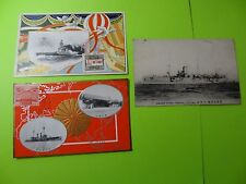 POST CARDS * Vintage * Japanese * War Ships * Military * Cruiser Chiyoda *