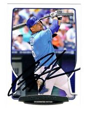 Billy Butler Autographed Auto Signed Ball Baseball Card 2014 Bowman Royals A's