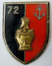 Insigne SANS ATTACHE 72° GENIE Drago Guerre d'Algérie AFN ORIGINAL émail