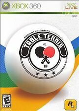 Rockstar Games Presents: Table Tennis for XBOX 360 Video Game Systems