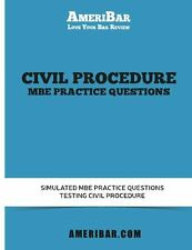 Civil Procedure MBE Practice Questions: Simulated MBE Practice Questions Testing