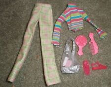 """BARBIE DOLL CLOTHES - 11"""" TEEN SKIPPER BABYSITTER PANTS, TOP, SHOES, BACKPACK"""