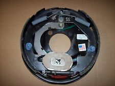 "Dexter 10"" x 2-1/4"" 3.5K Left Hand Electric Trailer Brake Backing Plate 3500"