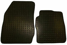 Ford Transit Courier Van 2014 On Heavy Duty Rubber Mats Front Tailored 2 Pc Set