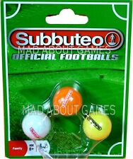 The New Subbuteo OFFICIAL FOOTBALLS SET Football Ball Soccer Miniature Toy balls
