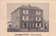 CHAMPLITTE hôtel du lion d'or écrite