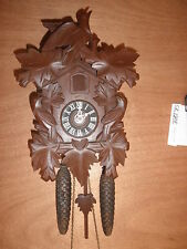 German made working Cuckoo Co. Linden Wood  8 Day Cuckoo Clock  CK1208