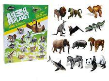 ANIMAL PLANET 3D ENSEMBLE PUZZLE Construction Kit De Montage Loisirs créatifs