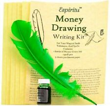 Prosperity Money Drawing Writing Ritual Spell Kit Pagan Witchcraft Altar Supply