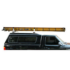 "White Universal Pickup Topper 2 Bar ladder roof van rack system 50""-53"""